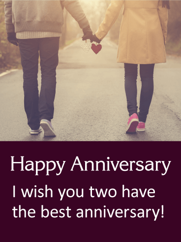 Always Together Happy Anniversary Card Birthday Greeting Cards By Davia Happy Anniversary Cards Happy Anniversary Wishes Anniversary Wishes For Sister