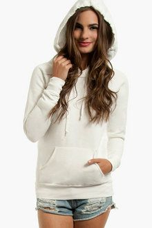 Monday Morning Hoodie in Cream