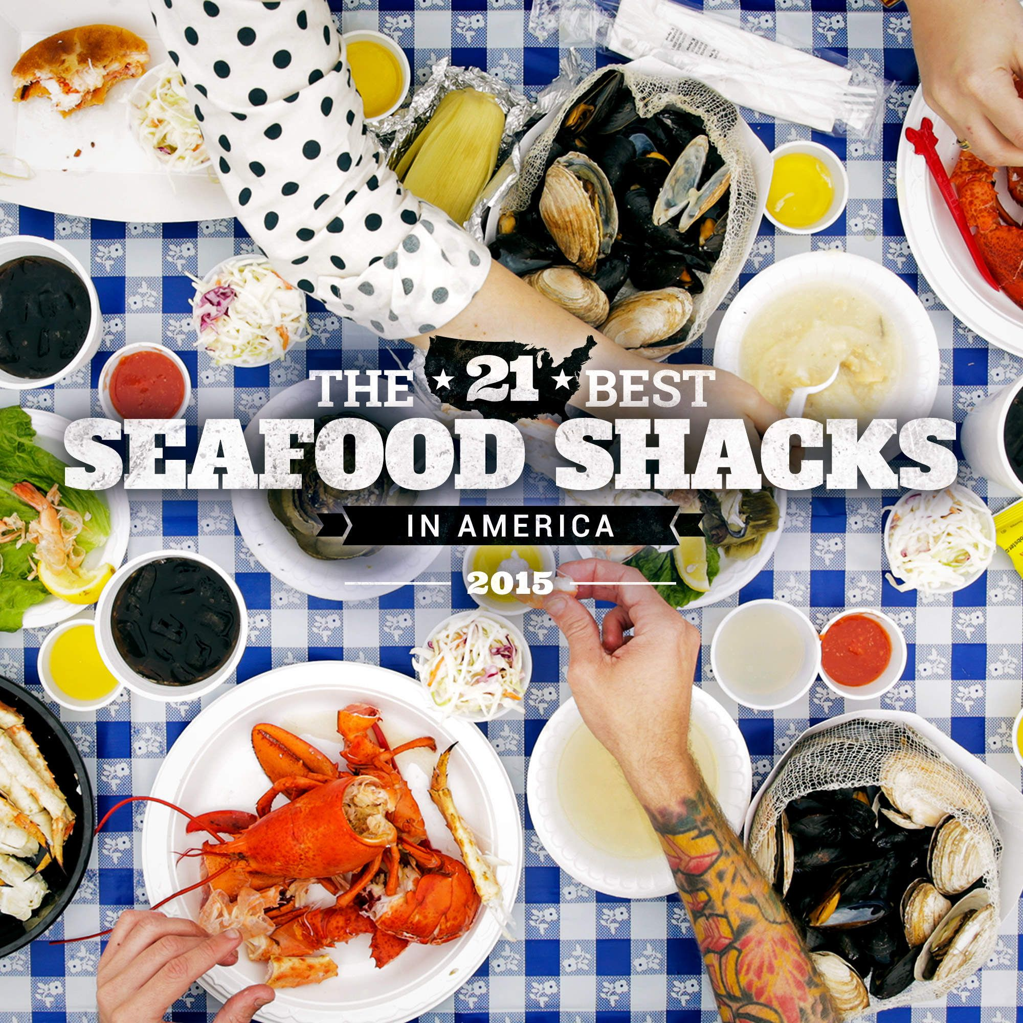 Tides Tavern featured as one of the 21 Best Seafood Shacks in America by Thrillist.com!