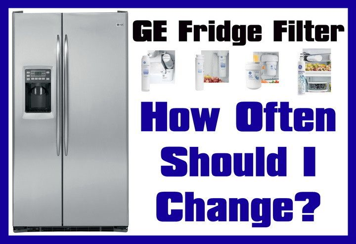 ge fridge water filters