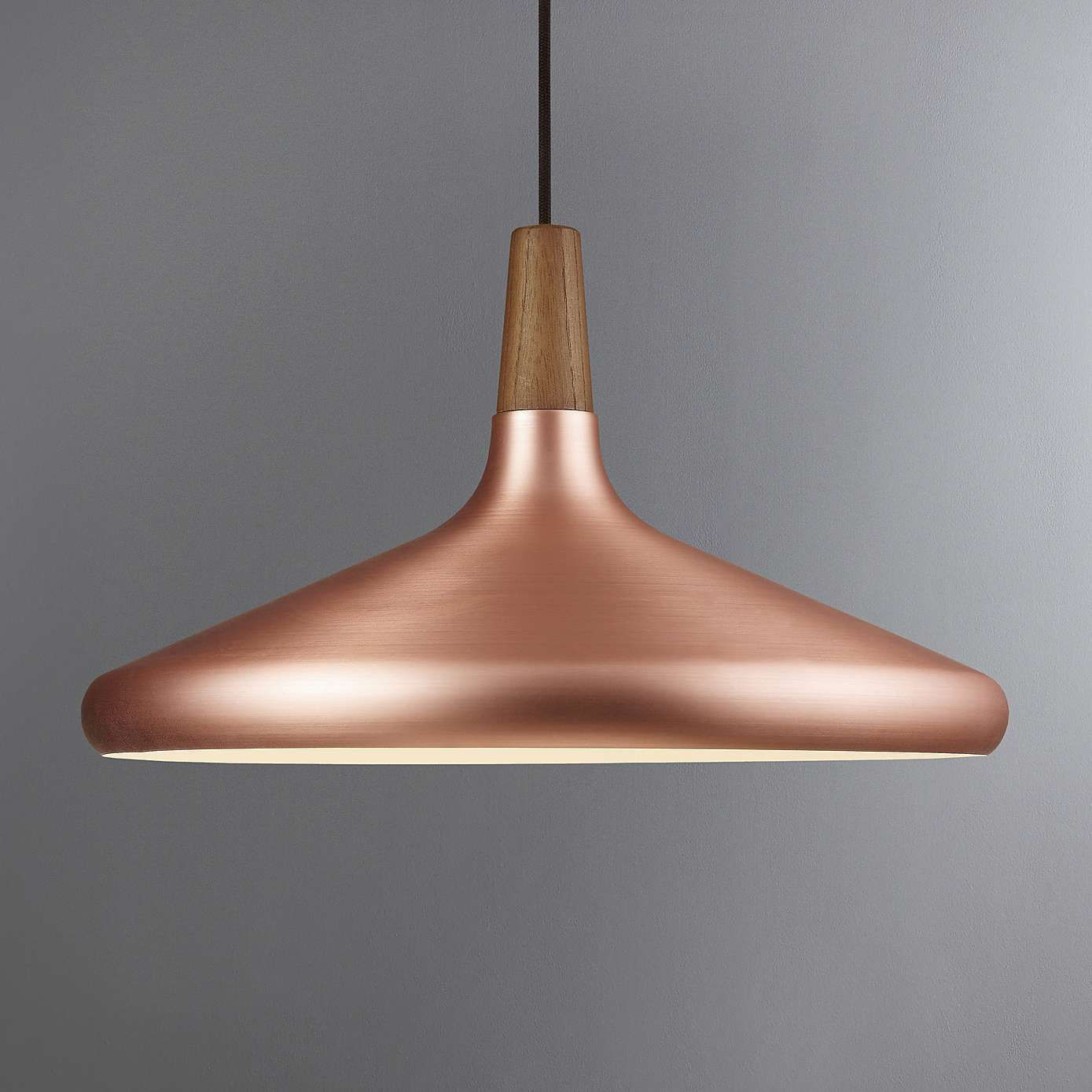 Nordlux Float Contemporary Design Copper Orange Metal Ceiling Pendant