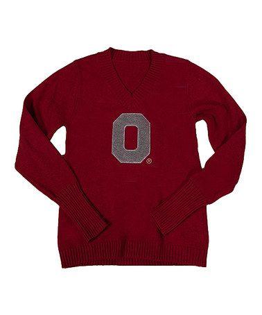 X-Large Alma Mater NCAA Oregon Ducks Womens V-Neck Sweater Green