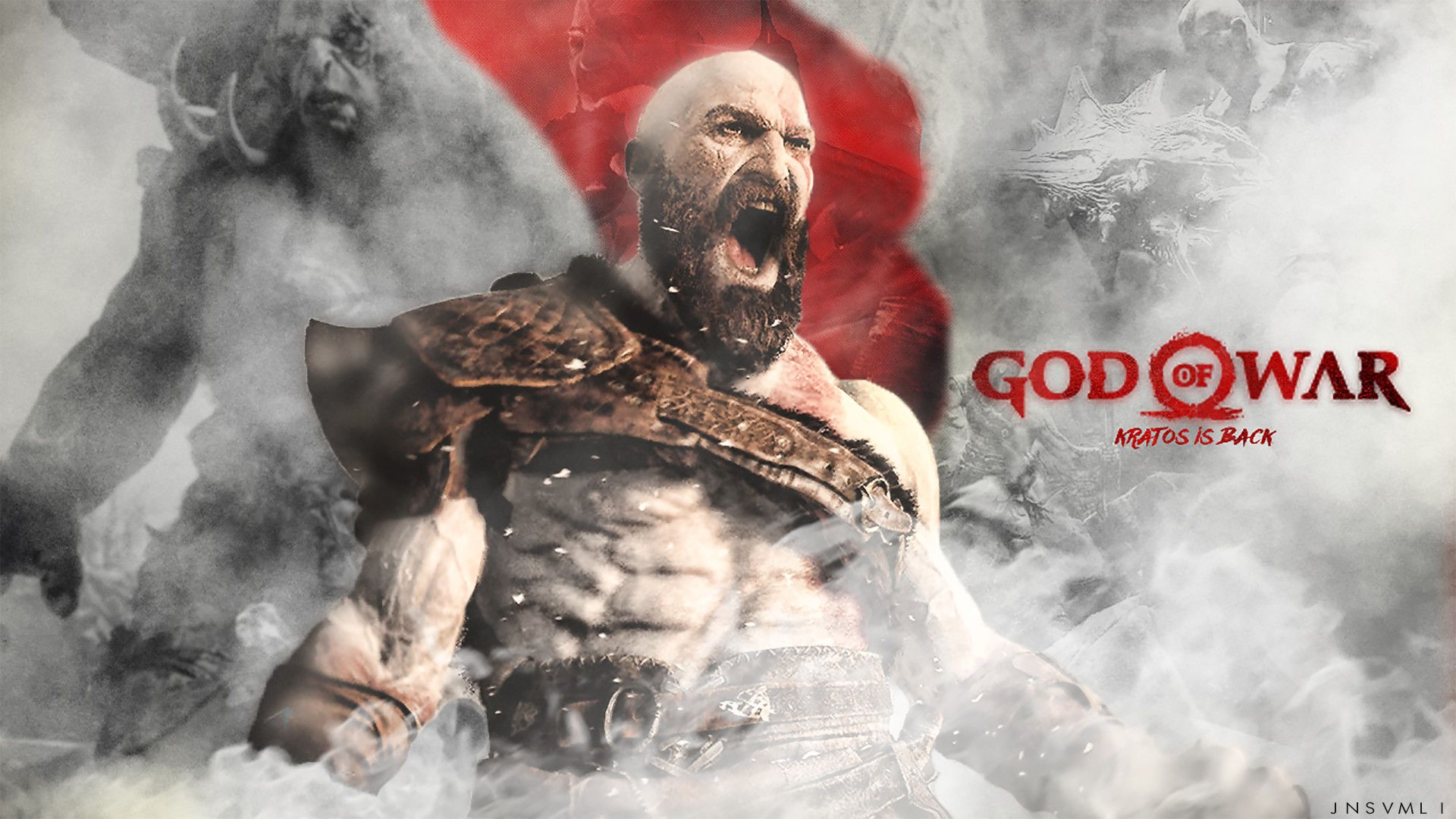 God Of War 4 Wallpaper 65 Images God Of War War Games