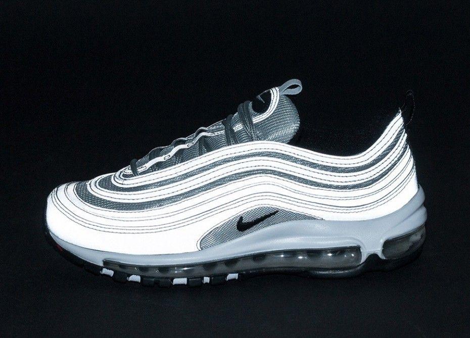 Nike Air Max 97 PRM (Reflect Silver Black Pure Platinum