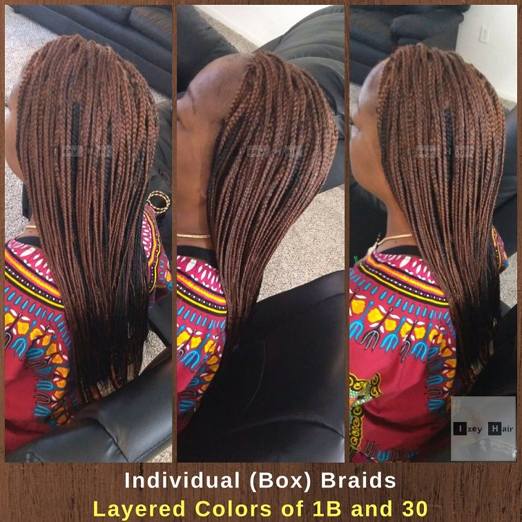 10 New Photos of Box Braids 2018 Box braids, Braids