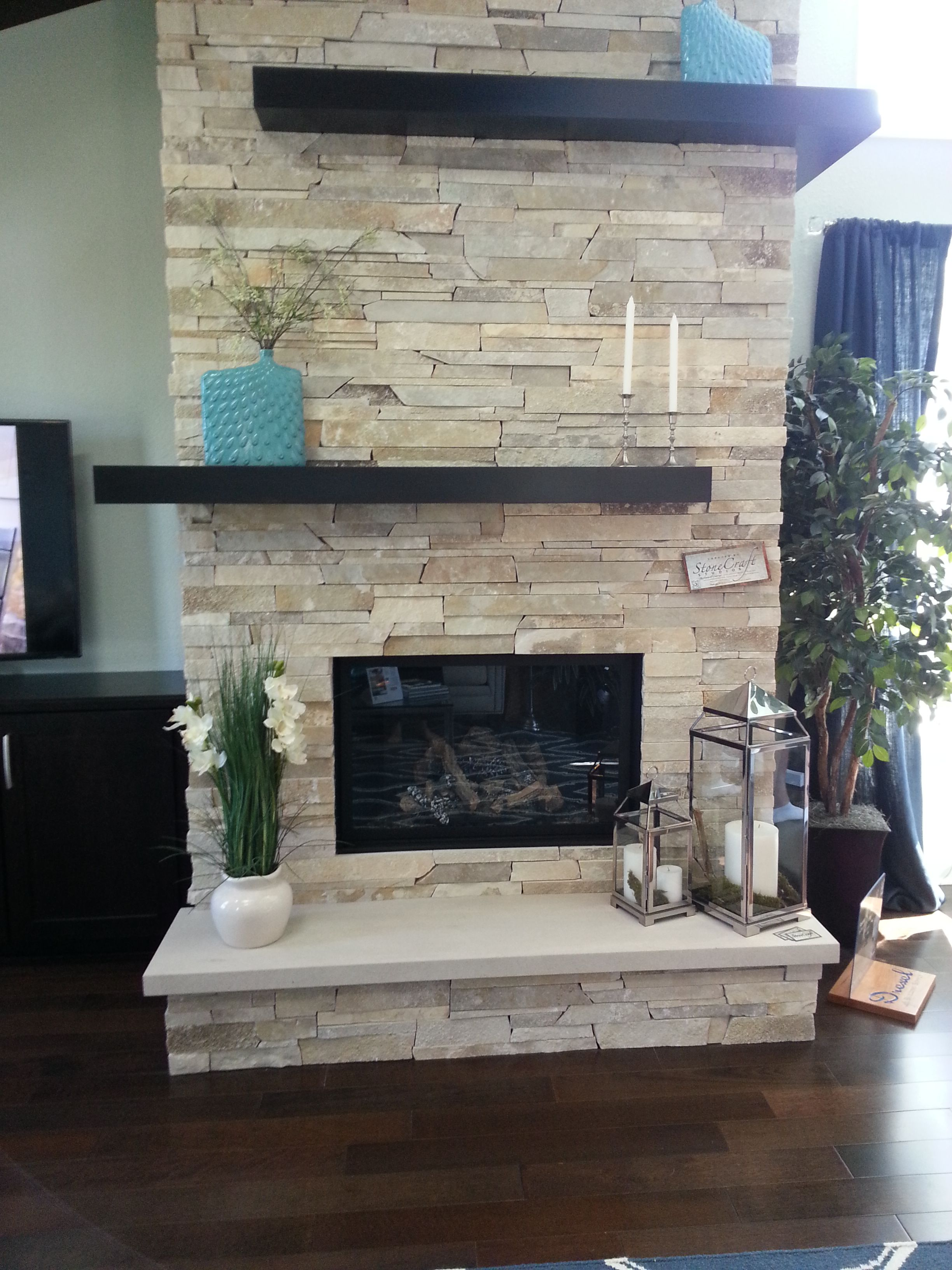 gray oak 3d honed fireplace ideas pinterest gray stone and