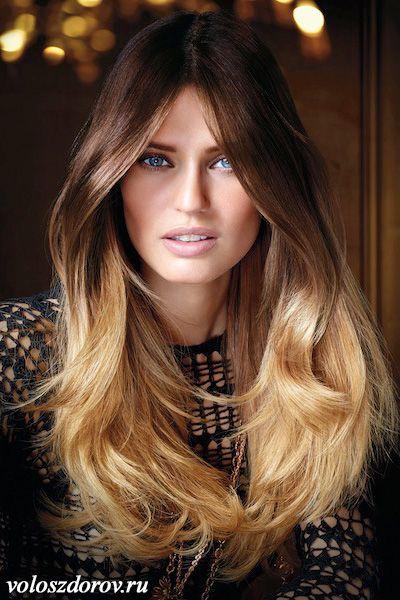 Фото омбре на волосах | Волосы, Омбре, Цвет волос