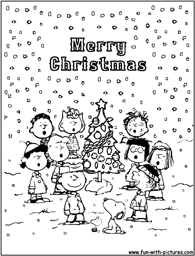 Charlie Brown Christmas Coloring Pages Bing Images Love Charlie