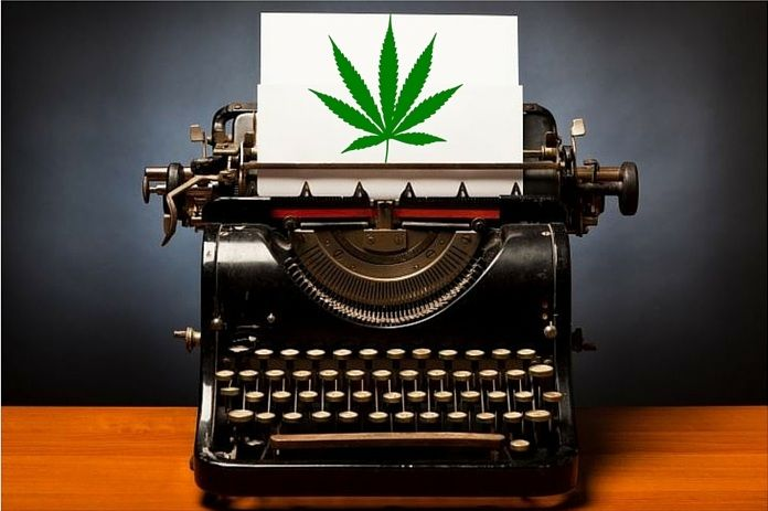 Guest Post Submission | All About Cannabis | Cannabis, Typewriter