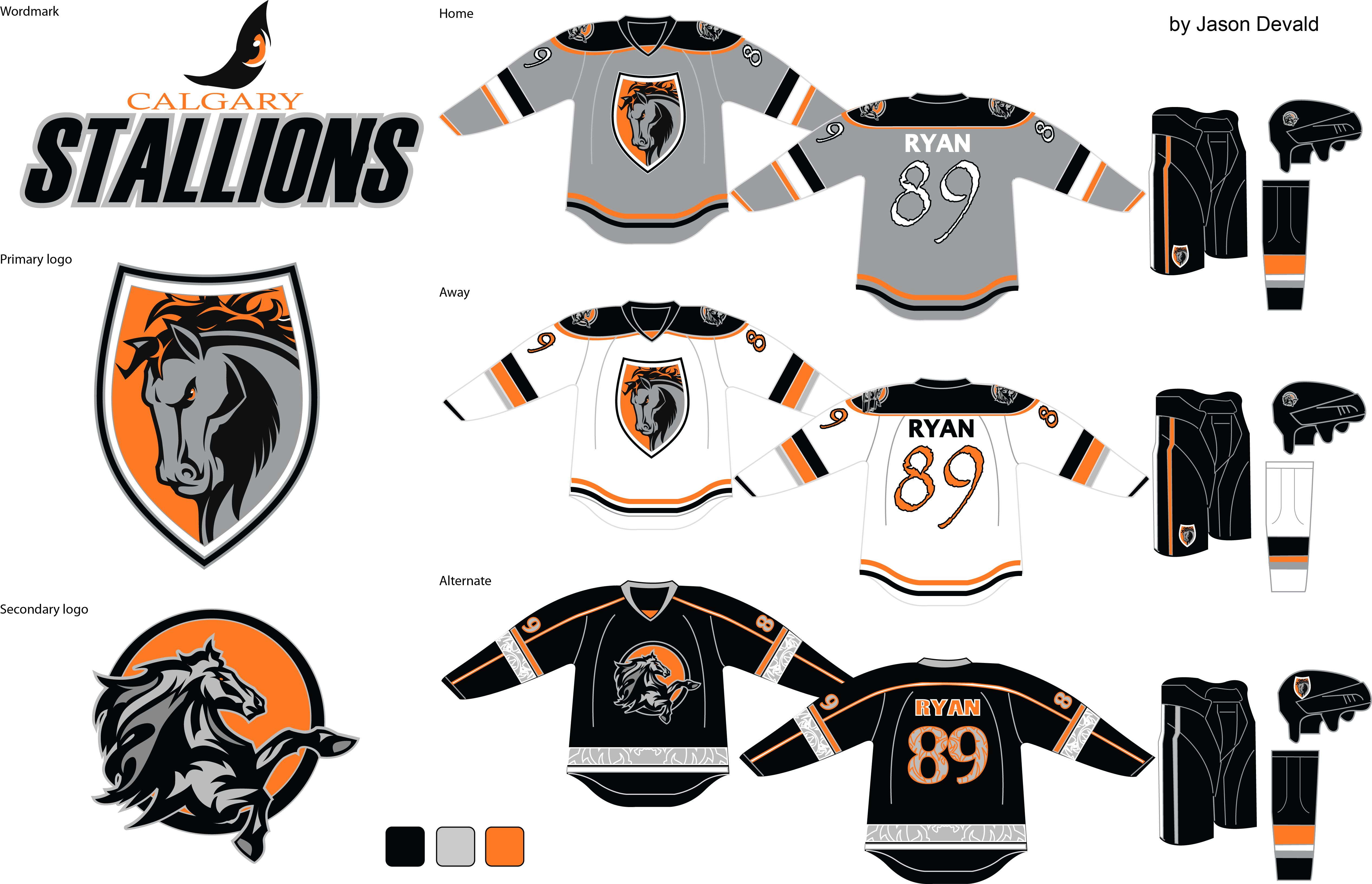 Hockey Jersey Concept Logo Design For Icehl Sports Team Logos Hockey Jersey Jersey Design