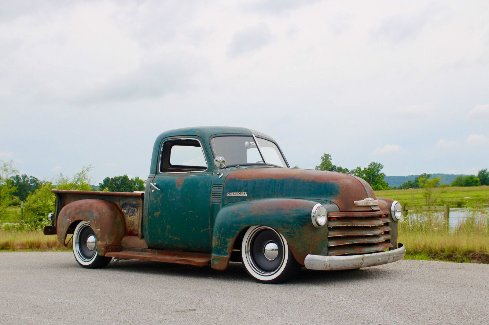 Chevrolet Other Pickups 3100 1948 Chevy Truck Ls 6 0 Short Bed S 10 Frame Rat Rod Hot Rod C 10 Patina Noreserve Check Mor Chevrolet Cool Trucks 54 Chevy Truck