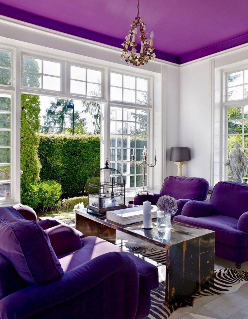 Cute 10 Purple Living Room Ideas For Feeling Excited Paradise Home #red #and #purple #living #room