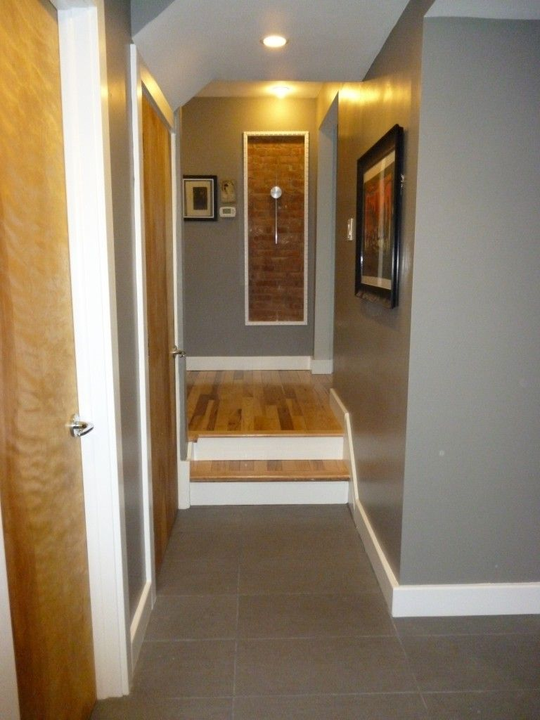White interior doors with oak trim - Might Be A Good Compromise With The Natural Wood On The Doors And White