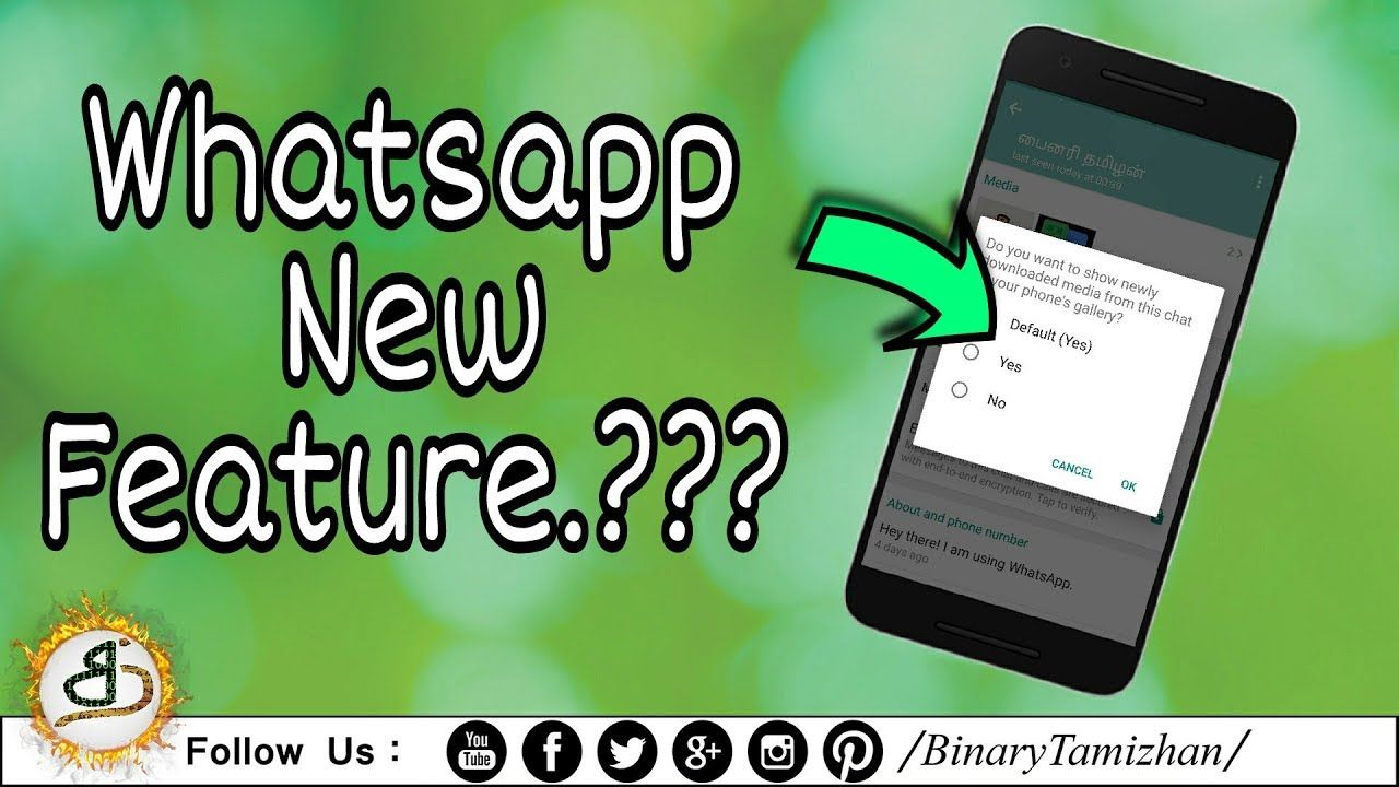 Whatsapp New Features  V-2 18 194 || Binary Tamizhan | Android Apps