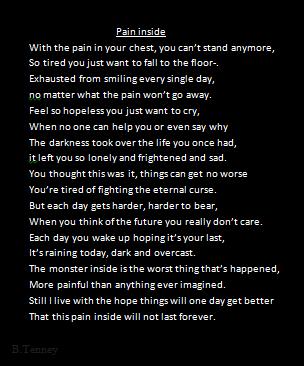 Lyrics to falling apart