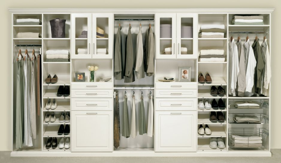 Modern Closet Cabinet Design furniture. white wood in modern design ideas closet organizers