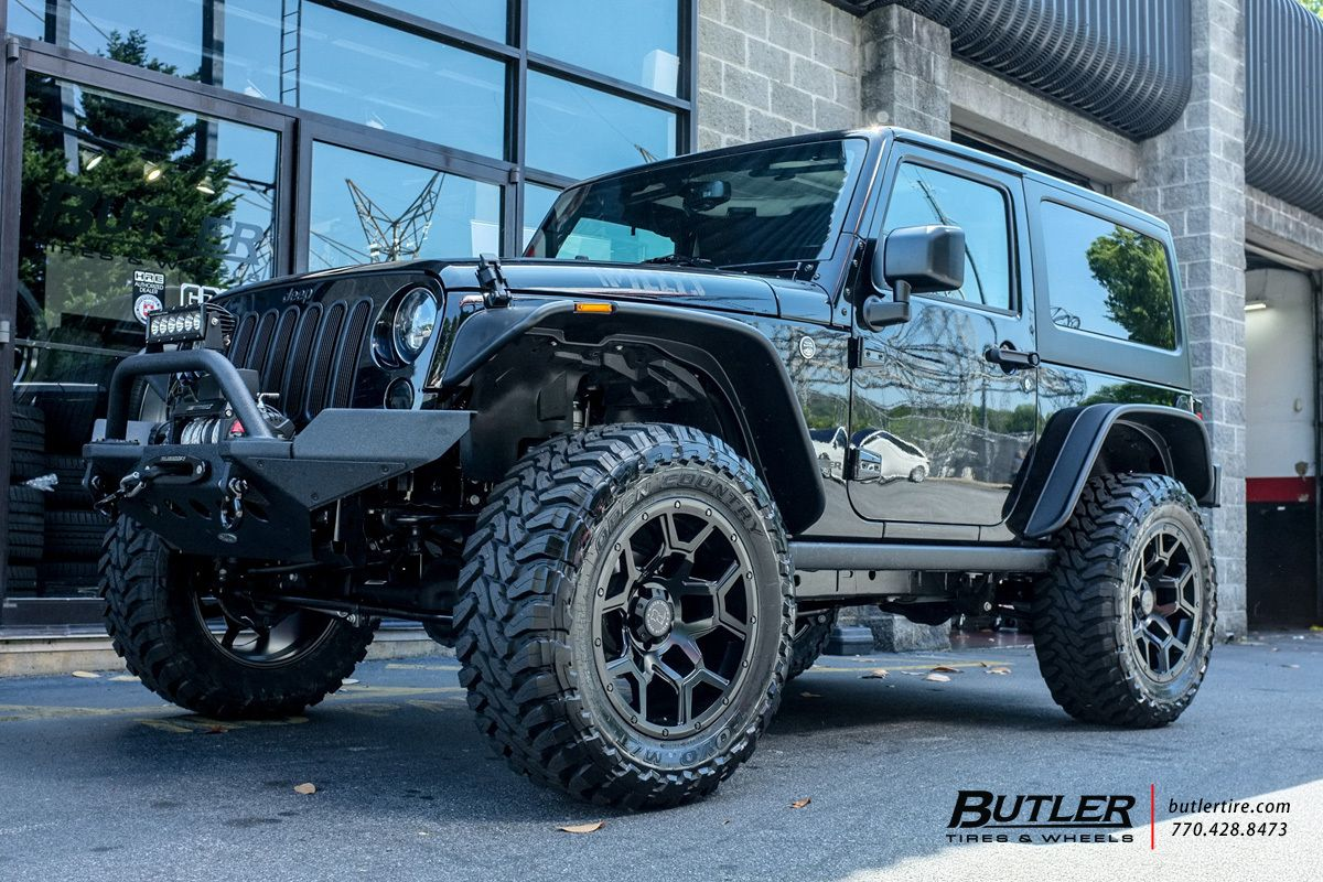 Jeep Wrangler With 20in Black Rhino Overland Wheels Jeep Wheels