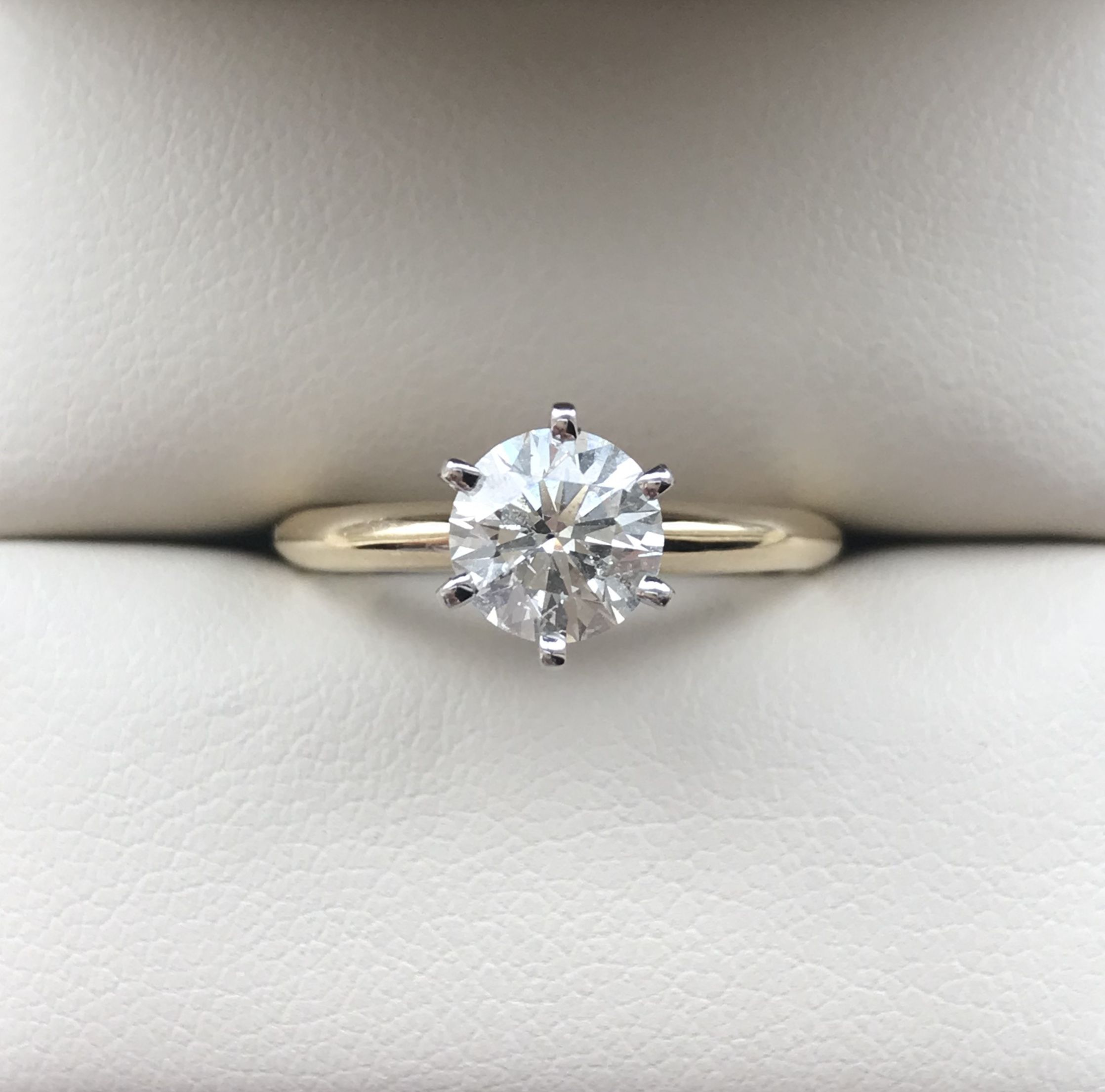 flat photo attachment diamond throughout rings ct viewing of photos prong settings engagement in ring open twist solitaire gallery set