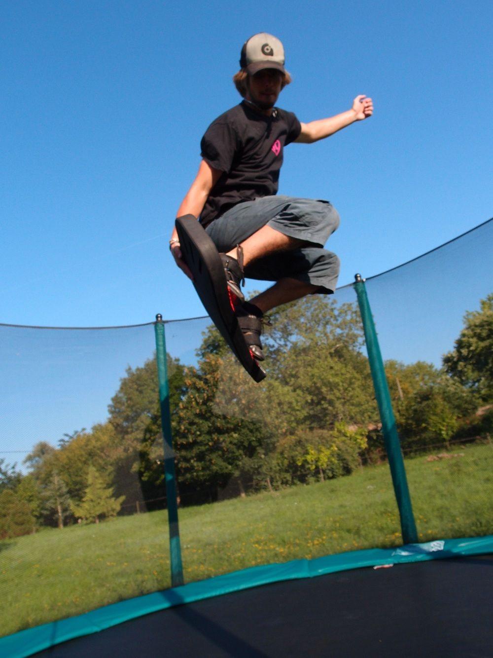 Freestyle et snowboard sur trampoline Winter olympics