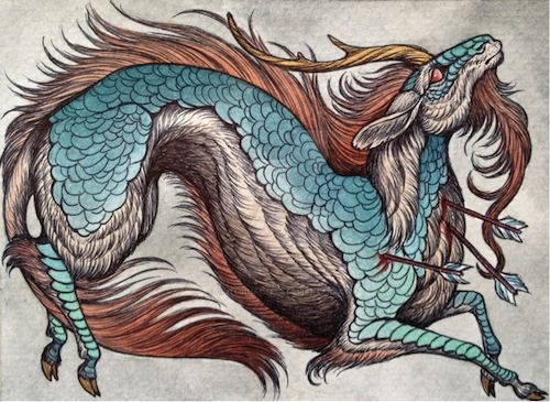 Asian mythology creatures