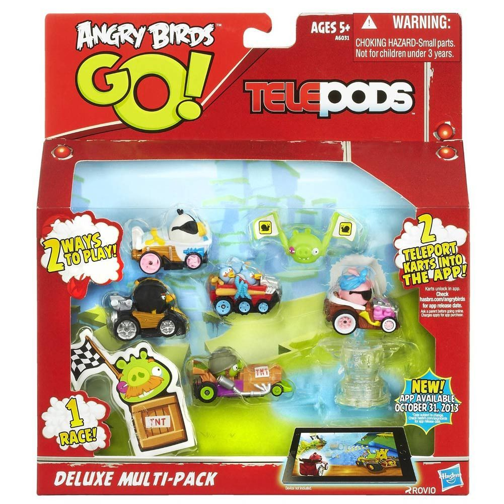 Angry Birds Go! Telepods Deluxe Multi-Pack