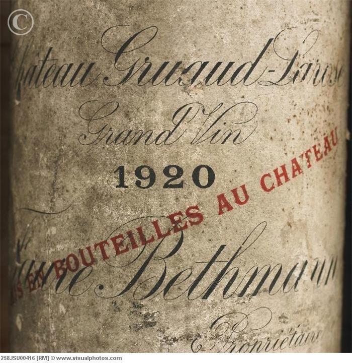 1920 Old Wine Bottle