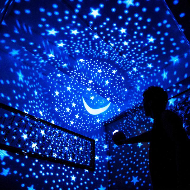 Turtle Night Starlight Buddy Projector Lamp Kids Bedroom Light Starry Xmas gift