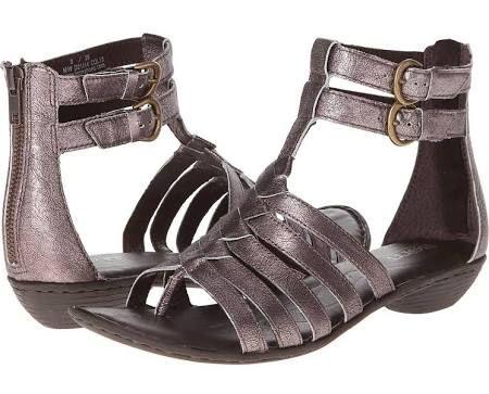 0438ebc51b3b Born Nikka Women s Sandals Paloma (Pewter)