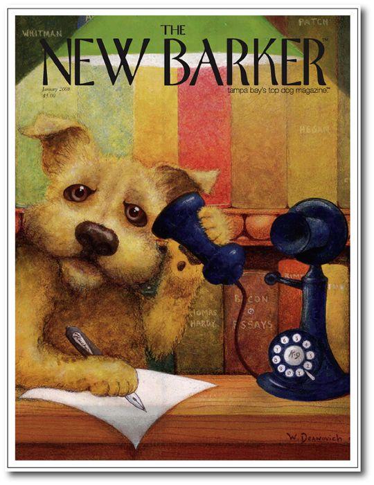 Rover Reporter by Walter Deanovich #rover #magazine #magazinecover #cover