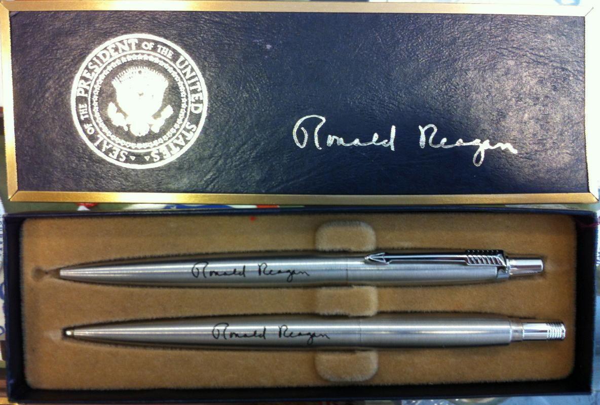LBJ Presidential Library: Presidential pens