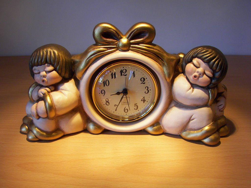 orologio angeli animali thun pinterest