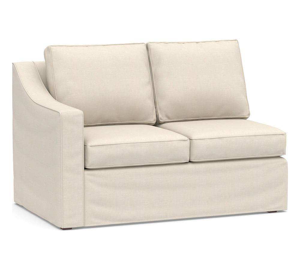 build your own cameron slope arm slipcovered sectional components rh pinterest com