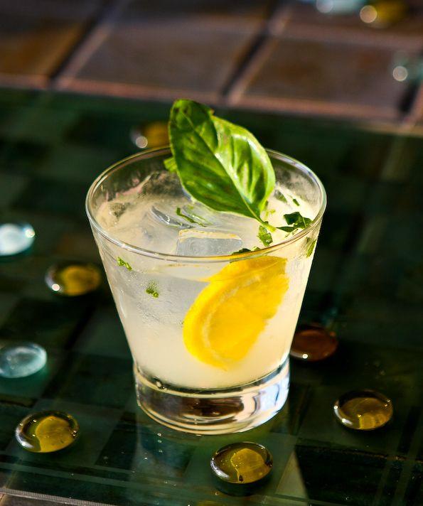 Xanadu Cocktail Basil And Grapefruit Grapefruit Recipes Gin