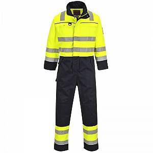 Combinaison multi-risques haute visibilité Portwest Yellow / Navy S   – Products