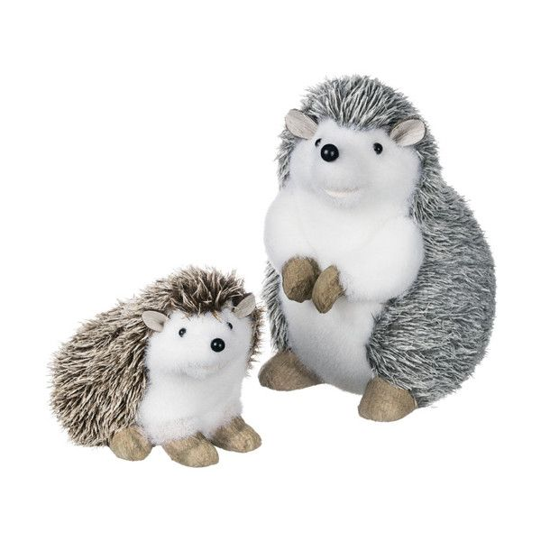 Sullivans Décor Friendly Hedgehog Figurine ($60) ❤ Liked On Polyvore  Featuring Home, Home