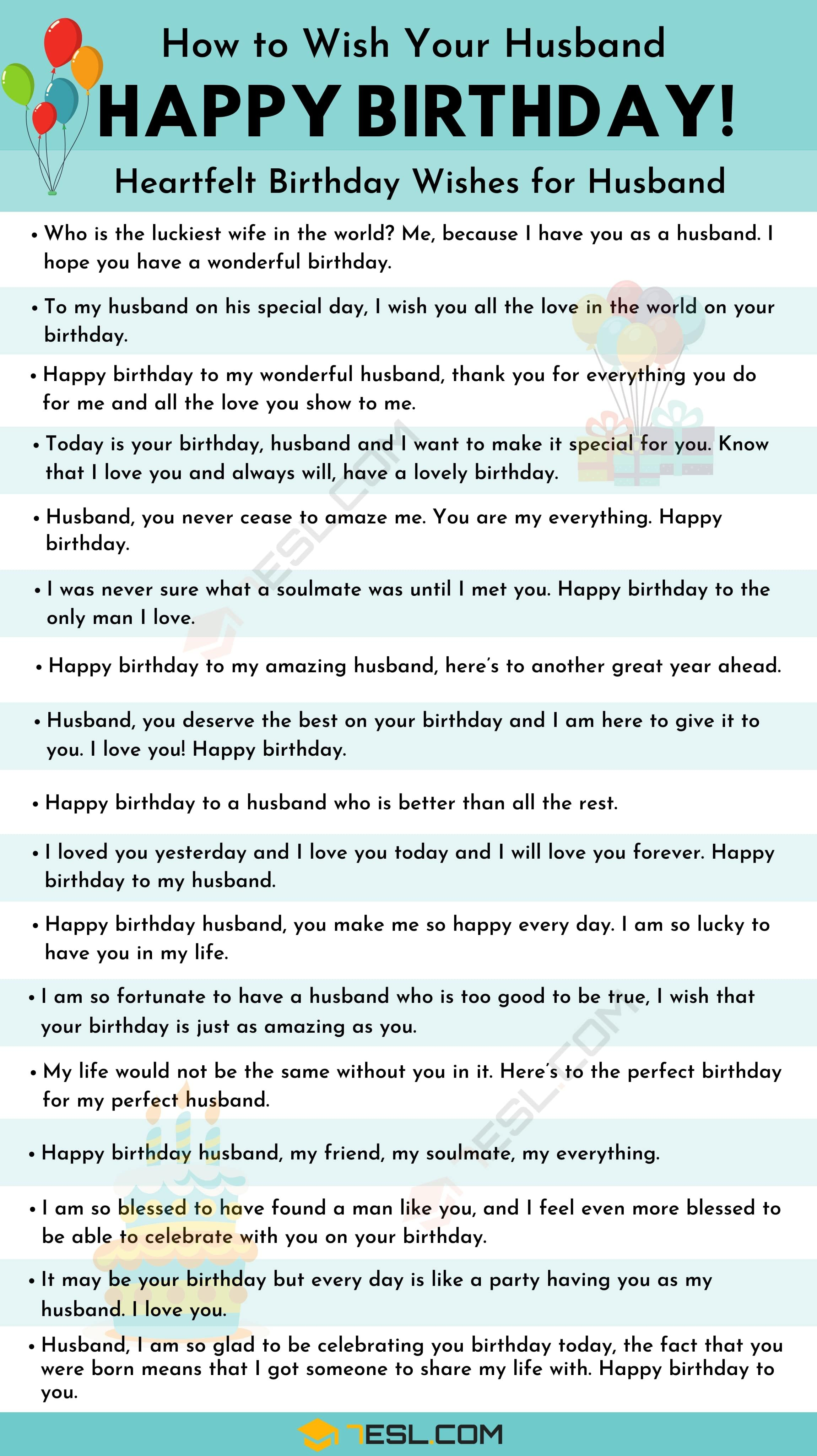 Birthday Wishes 500 Meaningful Happy Birthday Messages For Everyone 7esl Happy Birthday Husband Quotes Happy Birthday Husband Birthday Words For Husband