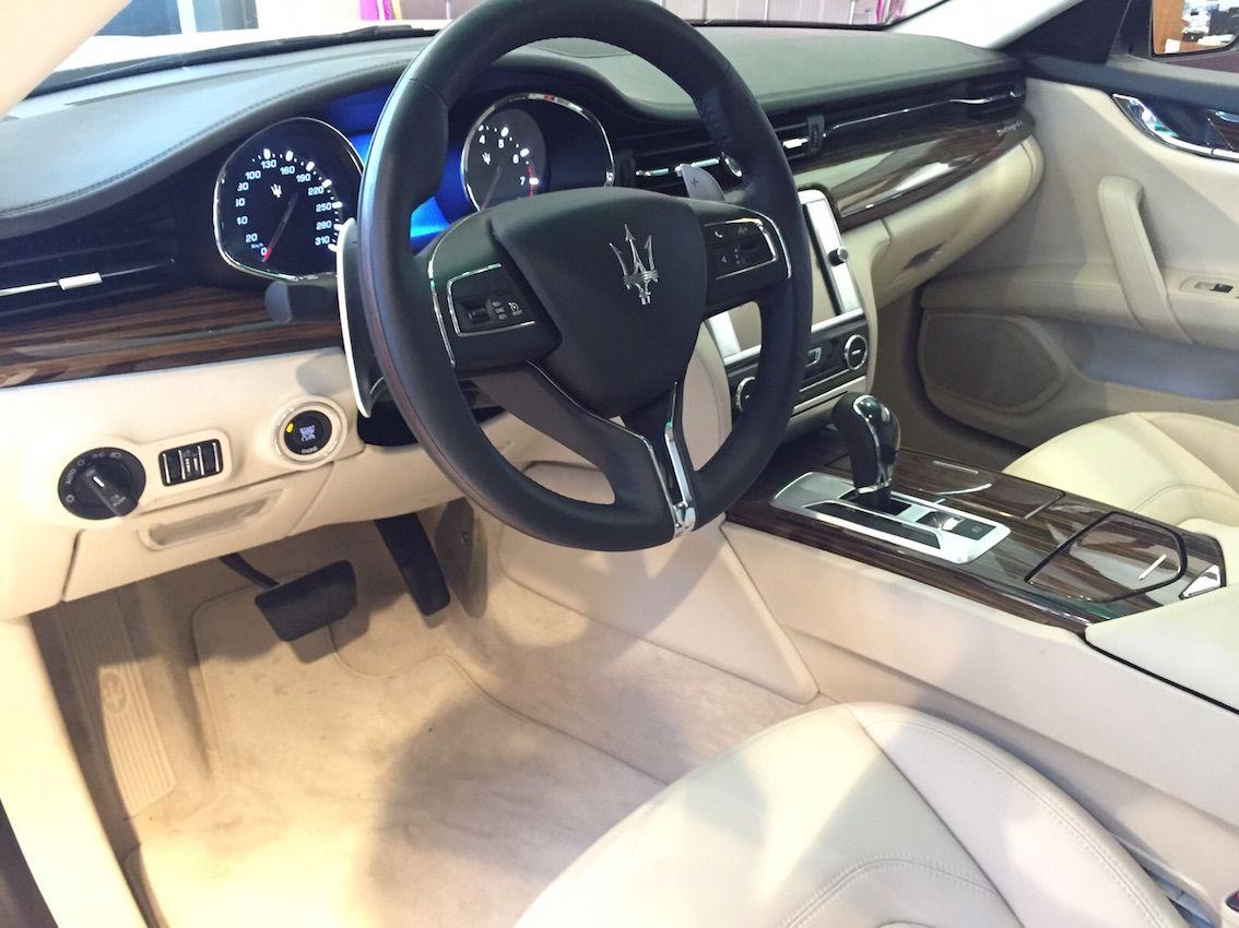Superdeal Bis 31 12 2015 Maserati Quattroporte Sq4 In Weiss
