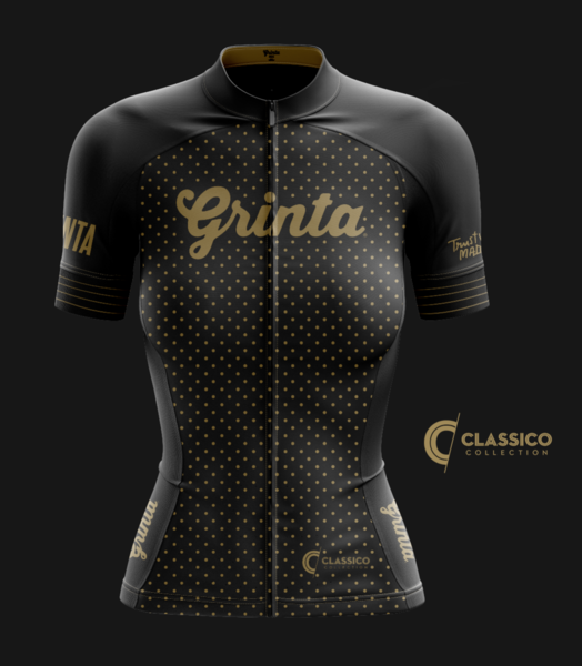Classico Black + Gold Jersey  Grinta 74c788273