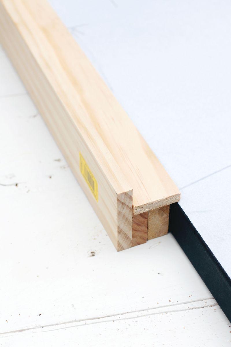 Diy custom framingno power tools required diy canvas