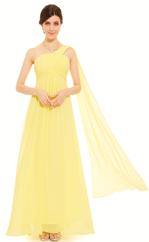 Eve daffodil yellow lemon chiffon one shoulder bridesmaid dress eve daffodil yellow lemon chiffon one shoulder bridesmaid dress eloises secret ombrellifo Image collections