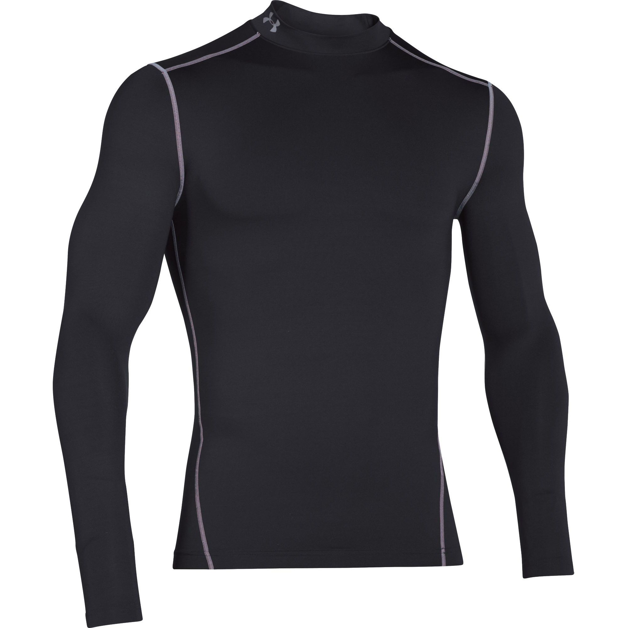 46a81cb92b762d Under Armour Men s ColdGear Armour Compression Mock Baselayer Shirt (Purple  Steel