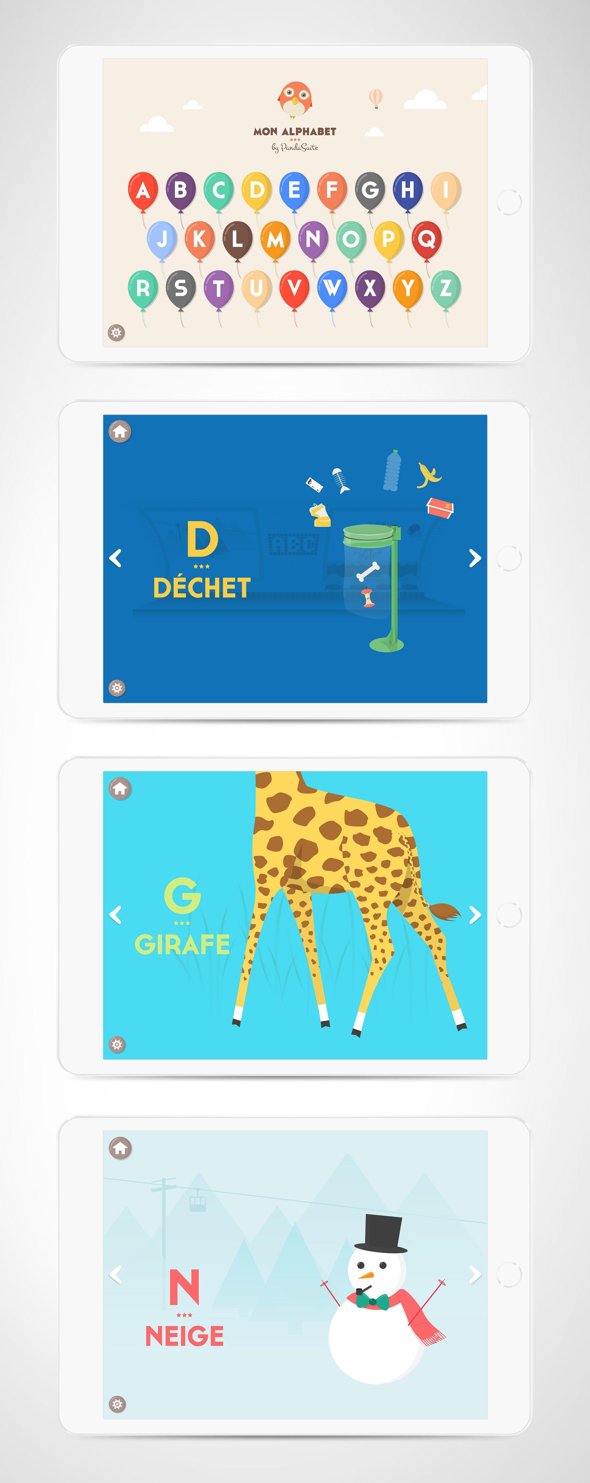 Alphabet current Project abc kids app alphabet game design