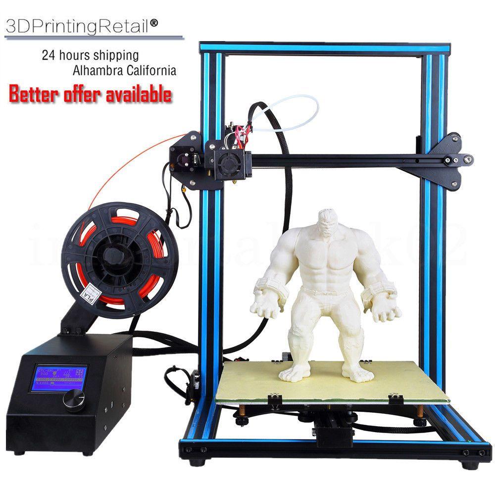 CTC A10S 3D Printer Aluminum High Precision PLA/ABS