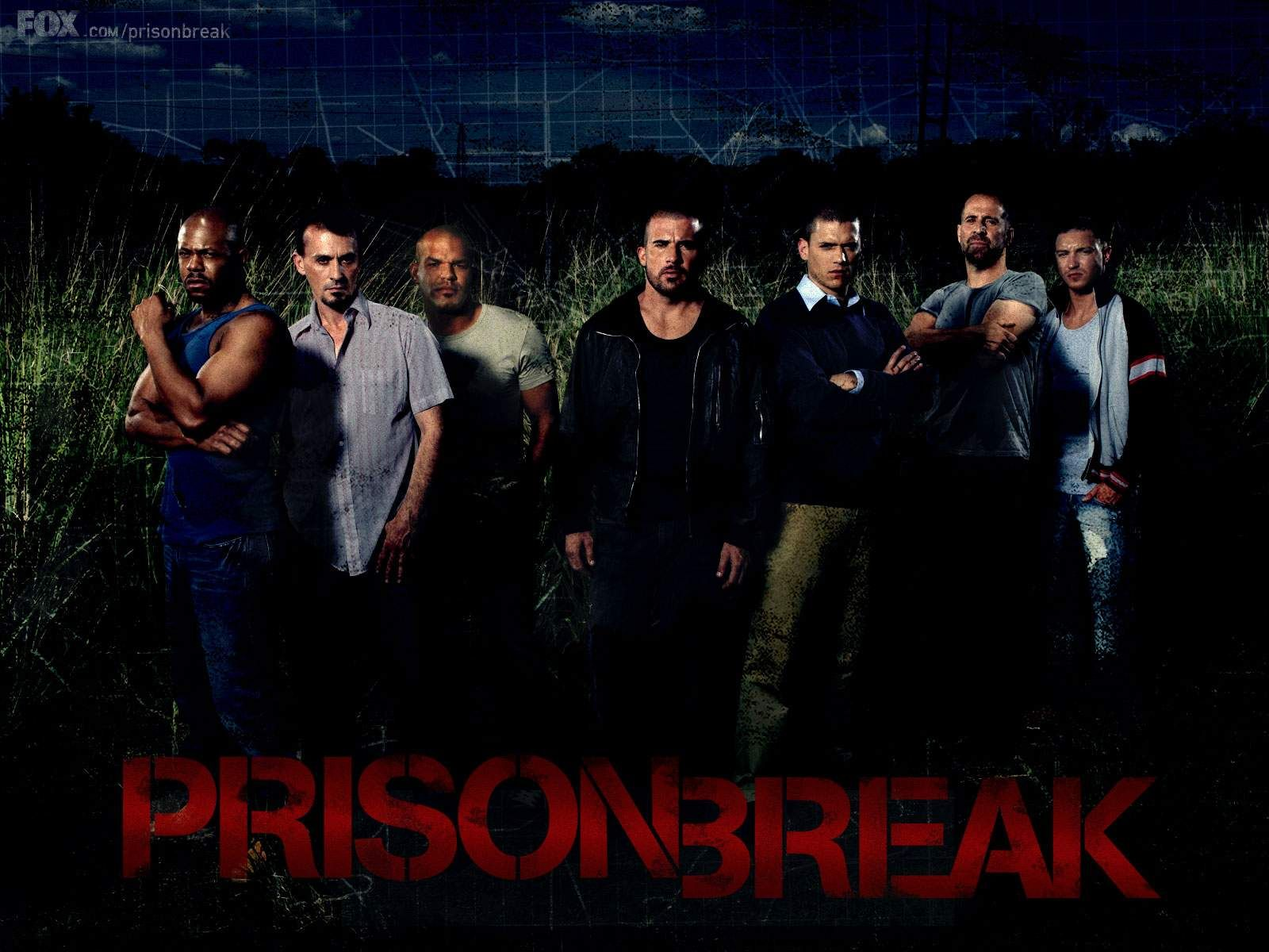 Top America Tv Series Wall Art Large Poster Canvas Picture Prison Break Cast