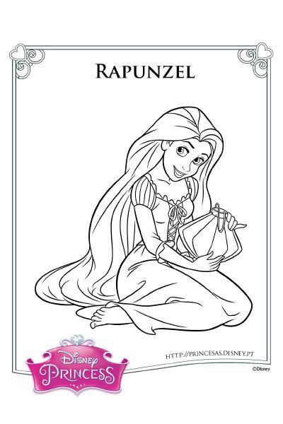 Colorir Com A Rapunzel 3 Rapunzel Enrolados Rapunzel