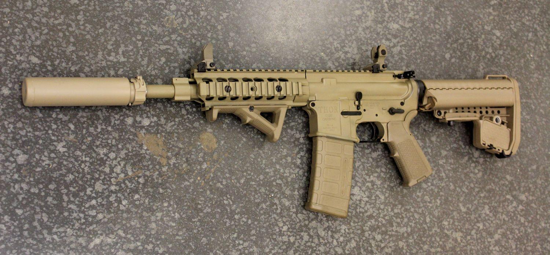 THOR TR-15 CQB Carbine Flat Dark Earth Cerakote #guns #tactical