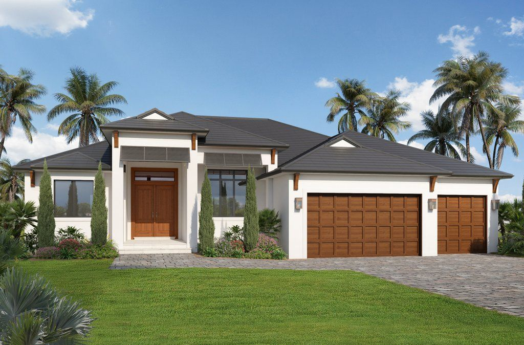 Contemporary Style House Plan 3 Beds 2 5 Baths 2329 Sq Ft Plan 938 110