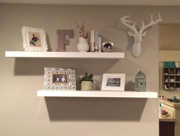 Floating Shelf Layout Ideas Floating Shelf Decor Floating