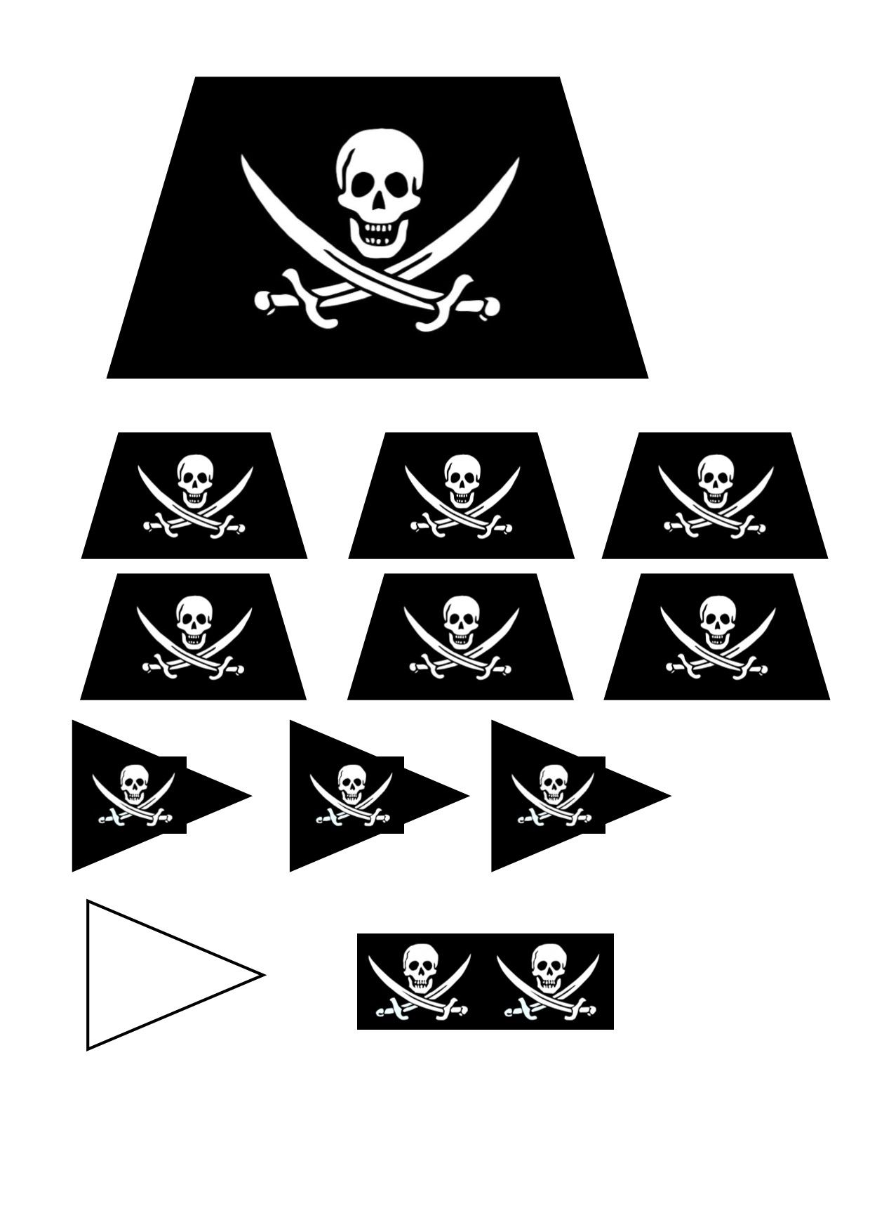 Drapeaux Et Voiles Anniversaire Pirate Drapeau Pirate Pirates Dessin