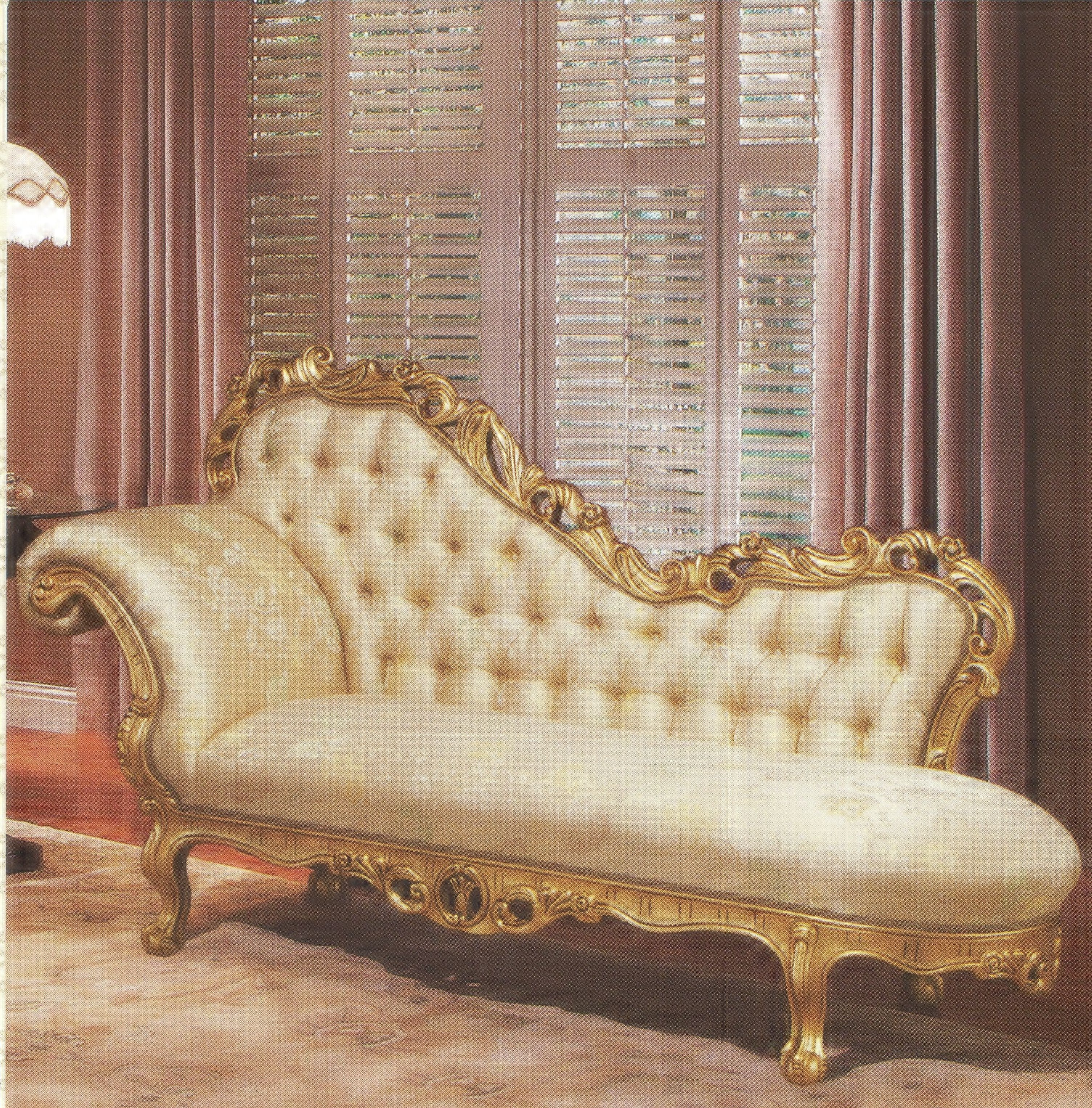 French Chaise French Chaise Lounge Sofa Antique French Empire Style